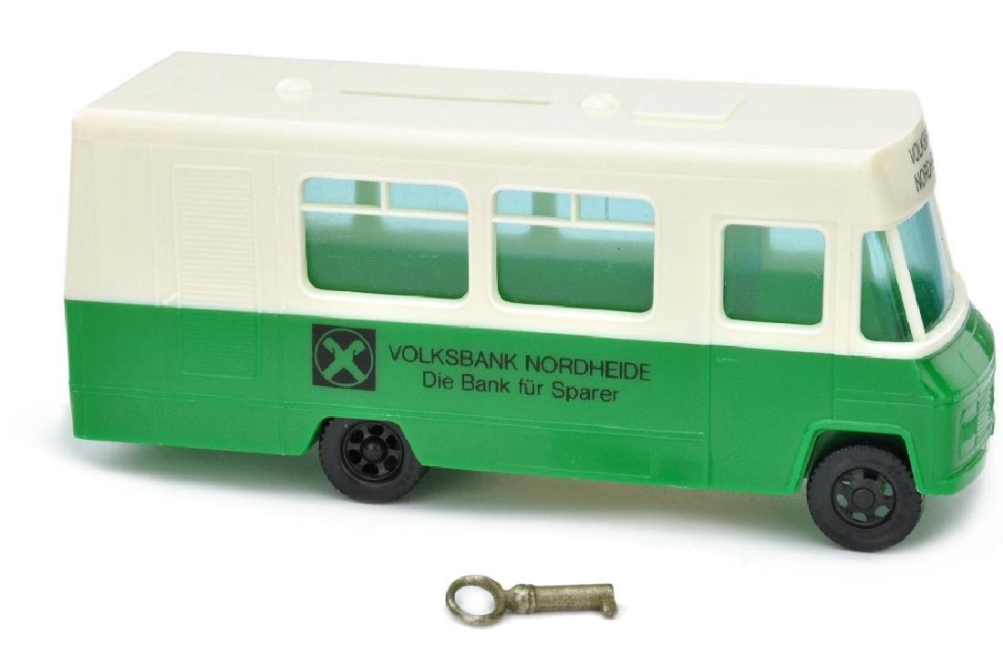 """SIKU - Sparbus Mercedes """"Volksbank Nordheide"""""""