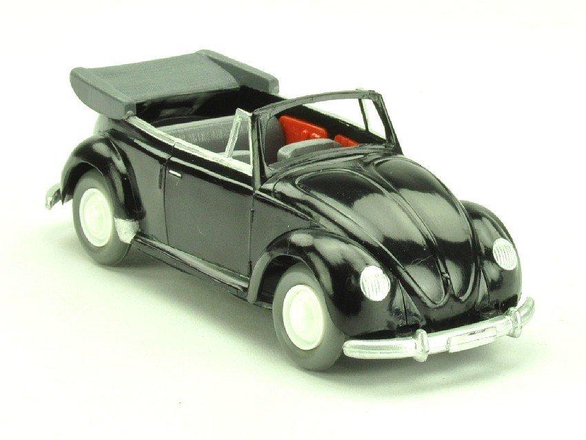 3503: VW Käfer Cabrio Typ 1 (1:40), schwarz