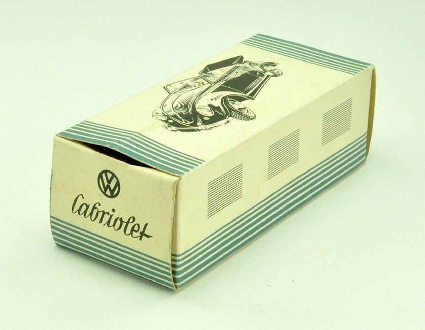 3504: Originalkarton für Käfer Cabrio (1:40)