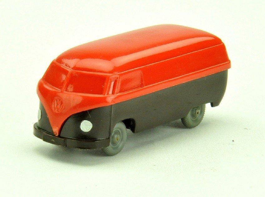 5012: VW T1 Kasten (Typ 3), orangerot/braunschwarz