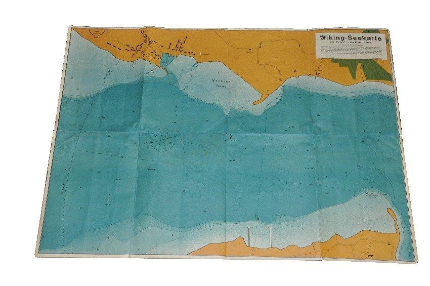 "3003: Seekarte ""Einfahrt in die Kieler Förde"""