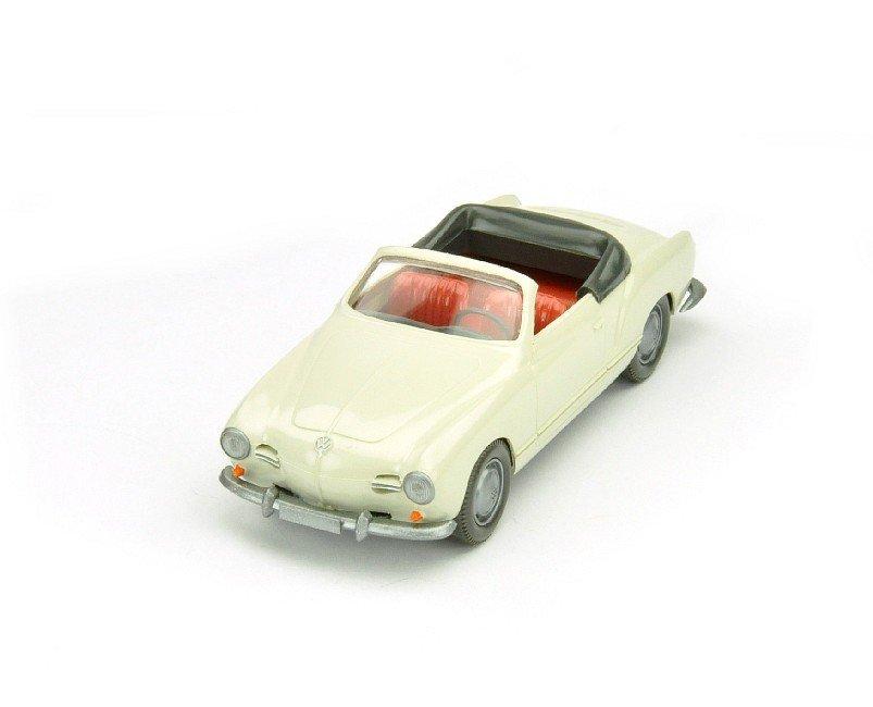 3504: VW Karmann Ghia Cabriolet, perlweiß