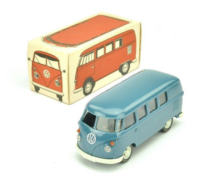 3507: VW Bus Typ 3 (1:40), mattgraublau (Ork)