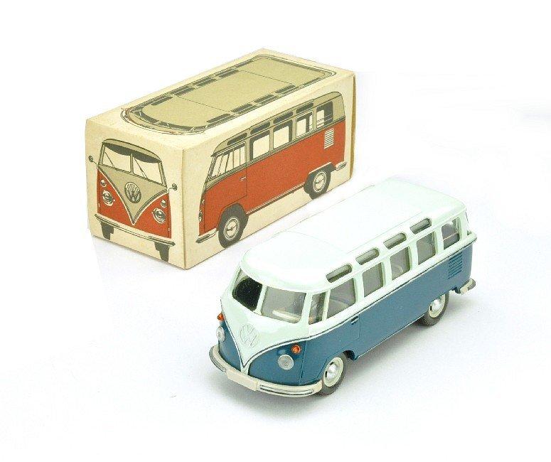 3508: VW Sambabus Typ 2, papyrusweiß/d'-azurblau (Ork)