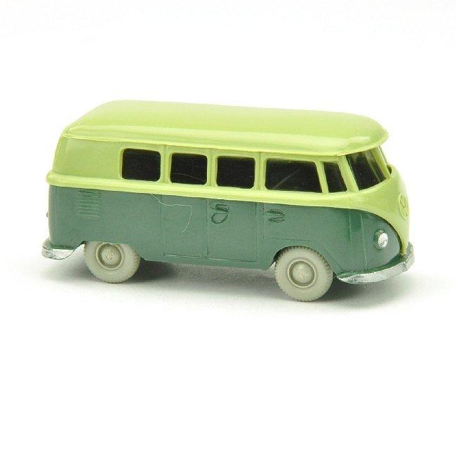 8381: VW T1 Bus (alt), lindgrün/graugrün
