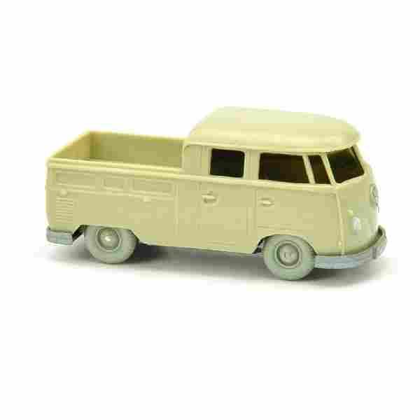 8435: VW T1 Doppelkabine, hellgelbgrau