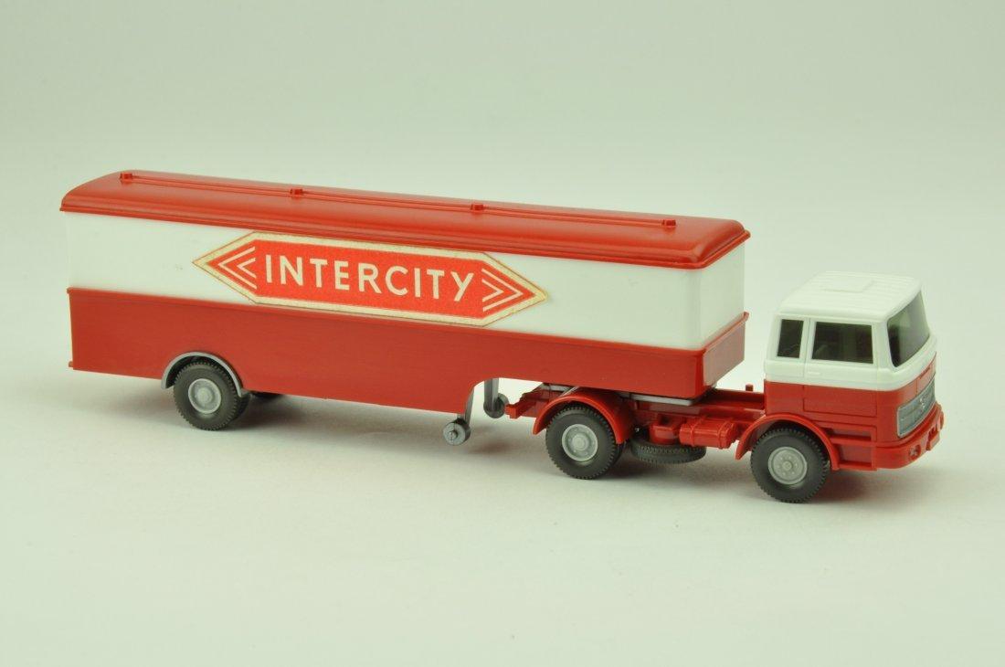 Koffer-Sattelzug MB 1620 Intercity
