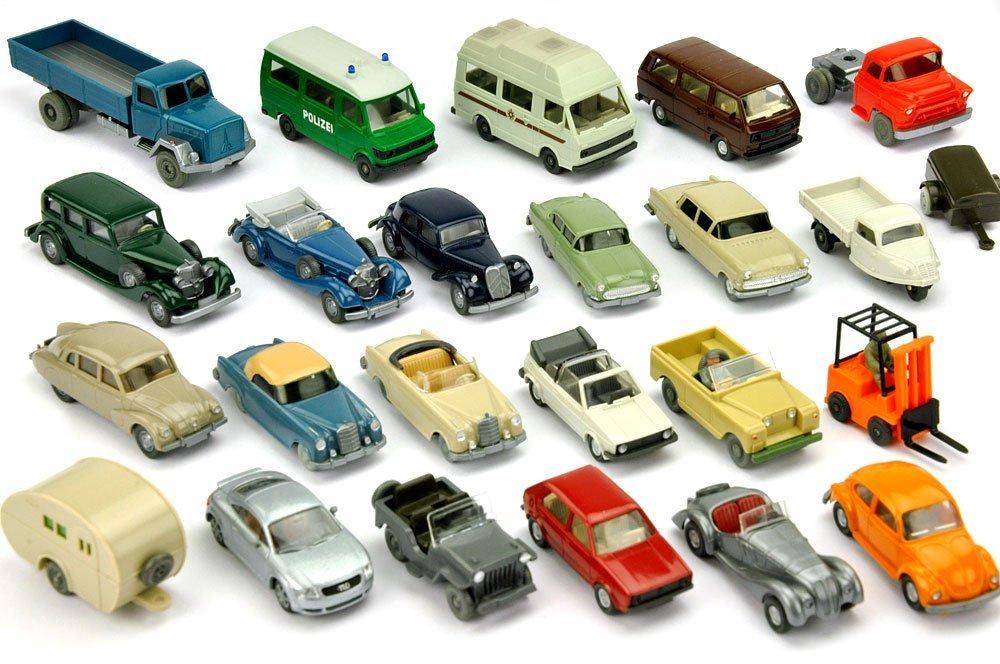 Konvolut 10+14 Modelle der 60er Jahre