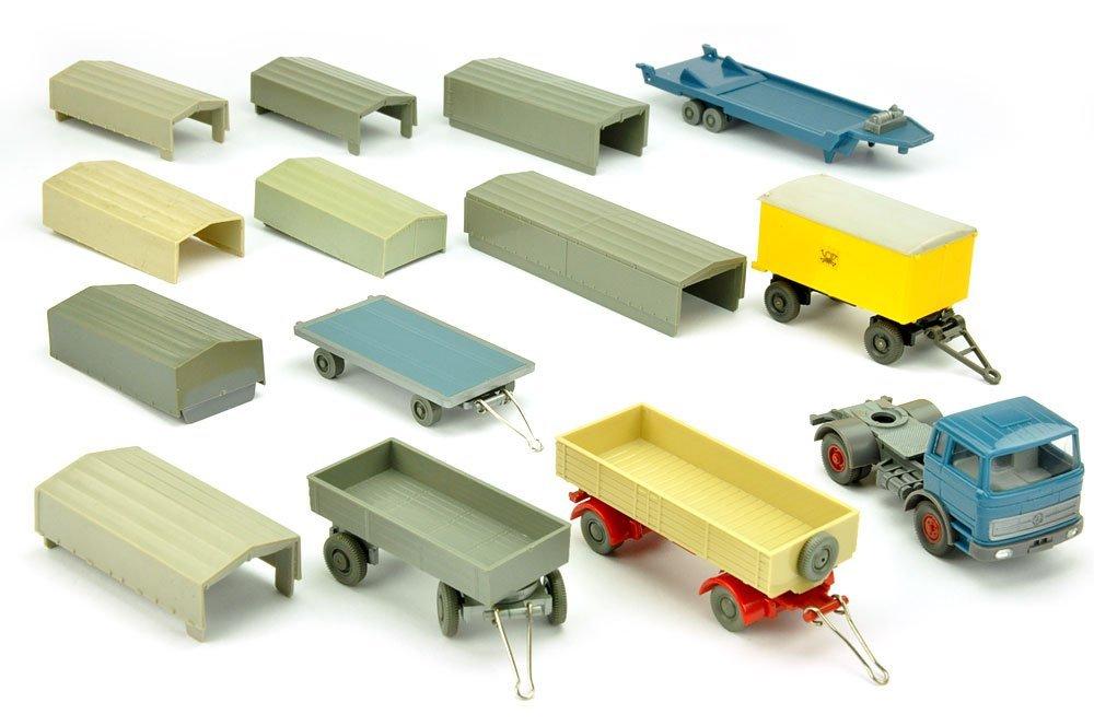 Konvolut 5+9 Modelle der 60er/70er Jahre