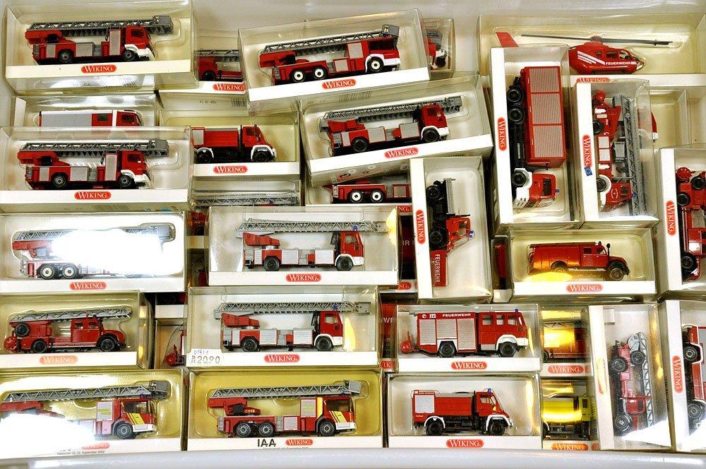 Konvolut 483 Feuerwehren der 70er/00er Jahre