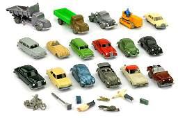 Konvolut 17 Modelle der 50er bis 70er Jahre
