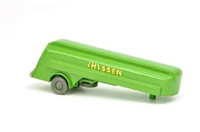 Auflieger zum Werbemodell Thyssen