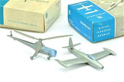 Konvolut 2 Flugzeuge Silberlinge im Ork