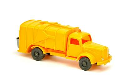 Müllwagen MB 5000, hellorangegelb