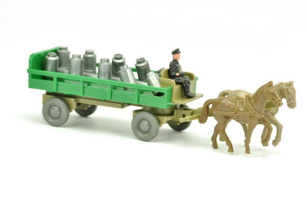 Pferdekutsche (Typ 3), grün/sandbraun (Ops)