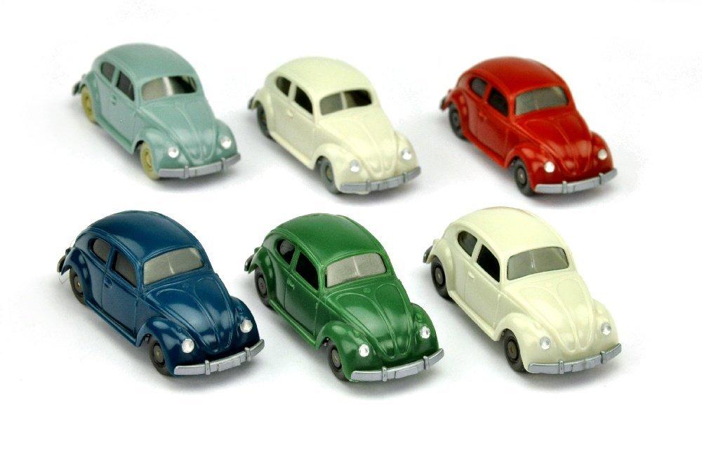 Konvolut 6 VW Kaefer (Typ 5) der 60er Jahre