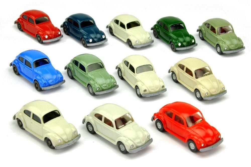 Konvolut 12 VW Kaefer der 70er Jahre
