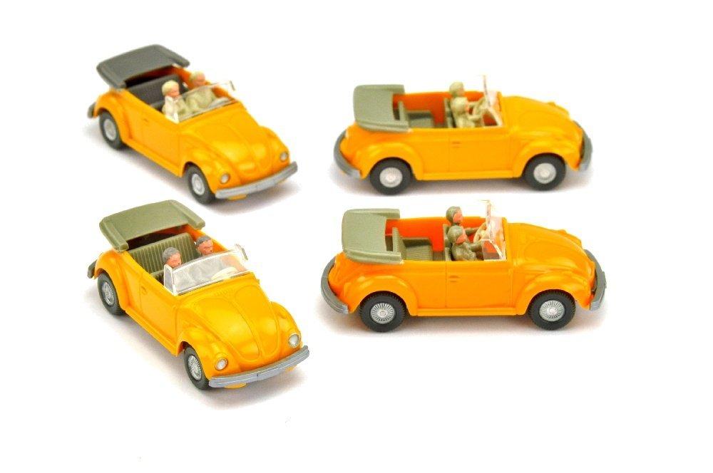 Konvolut 4 VW Kaefer Cabrios der 70er Jahre