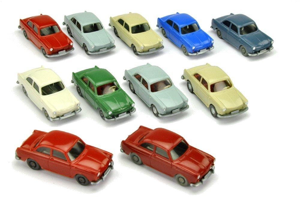 Konvolut 11 VW 1500/1600 Stufenheck