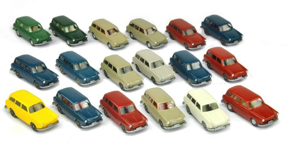 Konvolut 18 VW 1500/1600 Variant