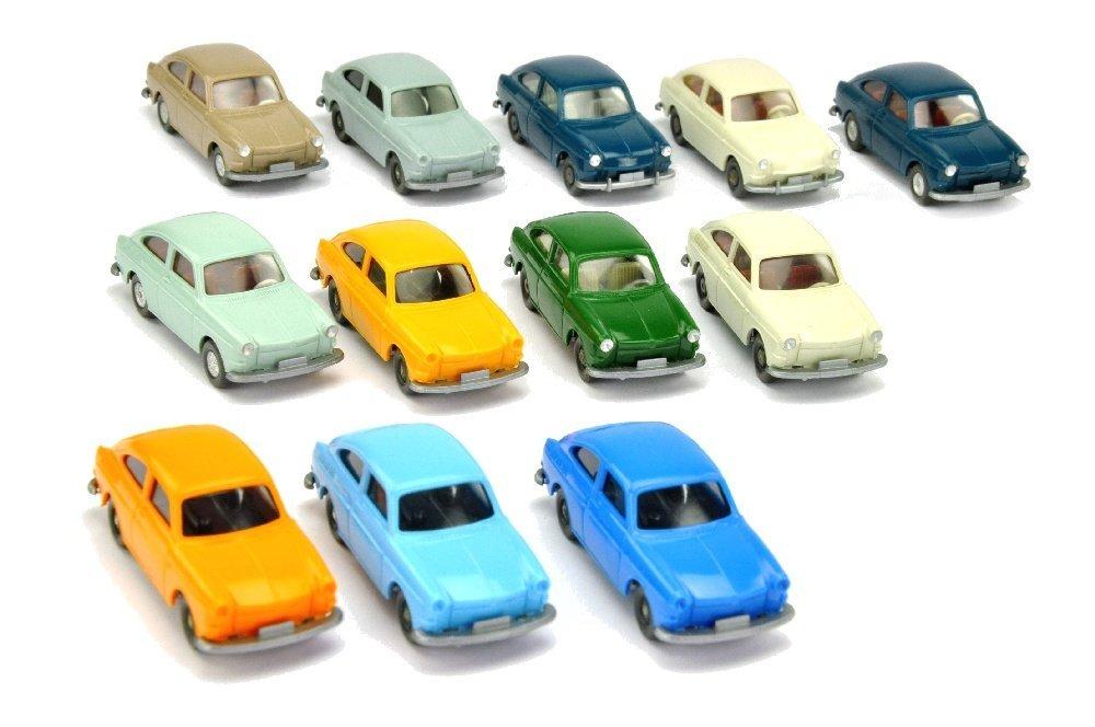 Konvolut 12 VW 1500/1600 Fliessheck