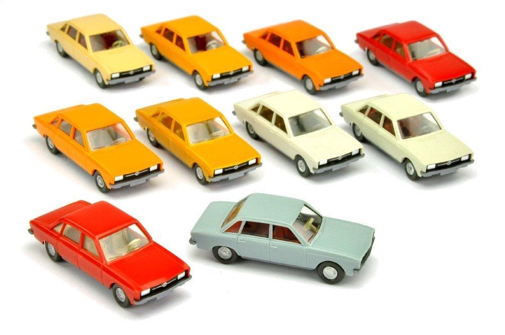 Konvolut 10 VW K 70 der 70er Jahre