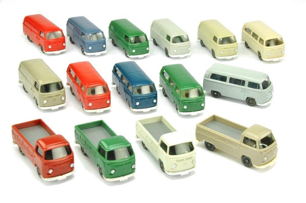 Konvolut 15 VW T2 der 70er Jahre