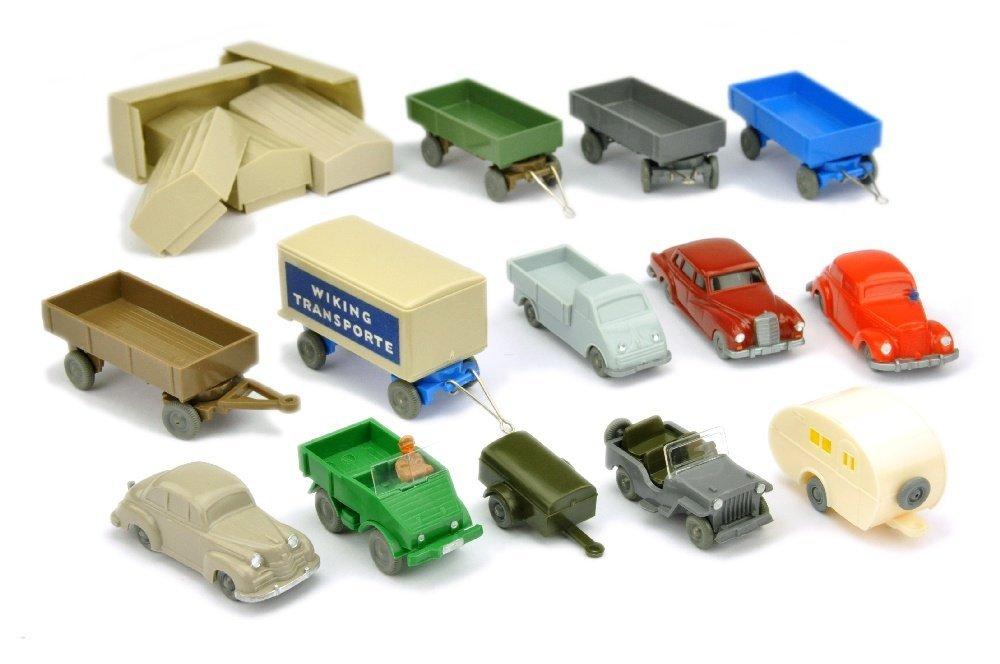 Konvolut 13+5 Modelle der 50er/60er Jahre
