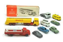 Konvolut 91 Modelle der 50er bis 70er Jahre