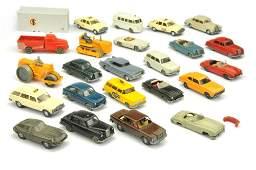 Konvolut ca 23 Modelle der 60er70er Jahre