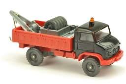 Unimog Werkstattwagen schwarzrot