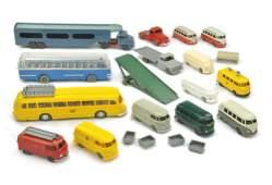 Konvolut 16 Modelle der 50er bis 70er Jahre