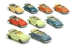Konvolut 9 VW Kaefer Cabrio Typ 2