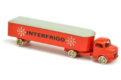 Lego- Interfrigo-Sattelzug MB 1413, rot