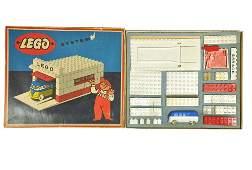 Lego - Garagen-Bausatz (mit VW T1 unverglast)