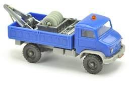 Unimog Werkstattwagen ultramarin