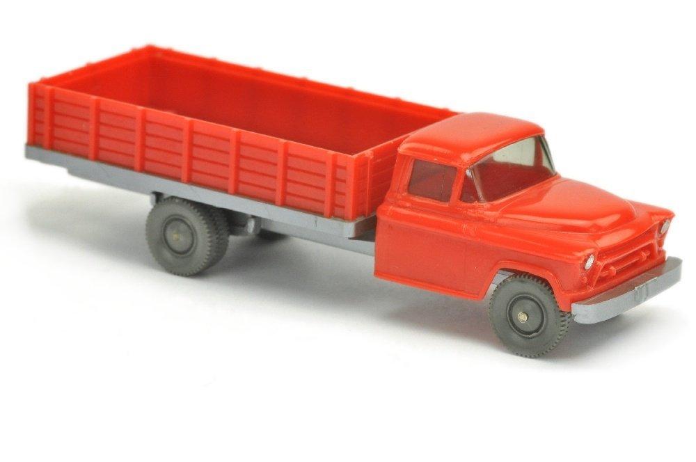 Chevrolet geschlossener Aufbau, orangerot