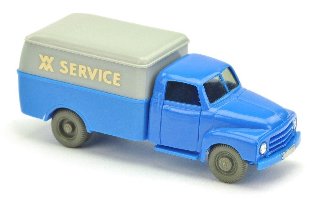 Opel Langhauber WM Service, himmelblau