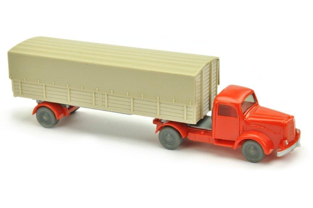 Pritschen-SZ MB 5000, orangerot/hellgelbgrau