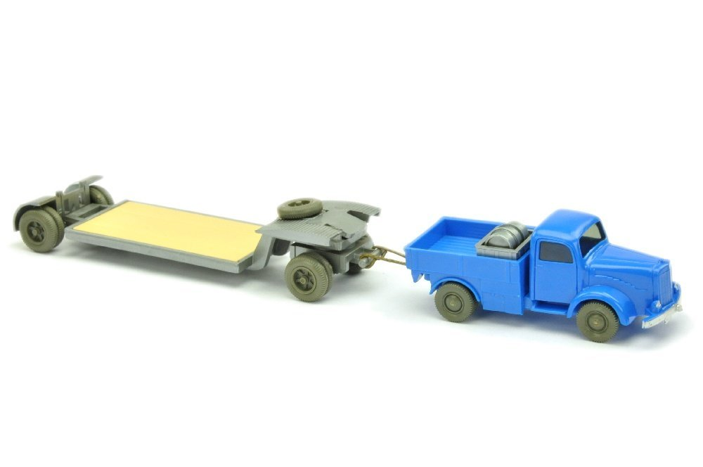 Schwergut-Zug MB 5000, himmelblau
