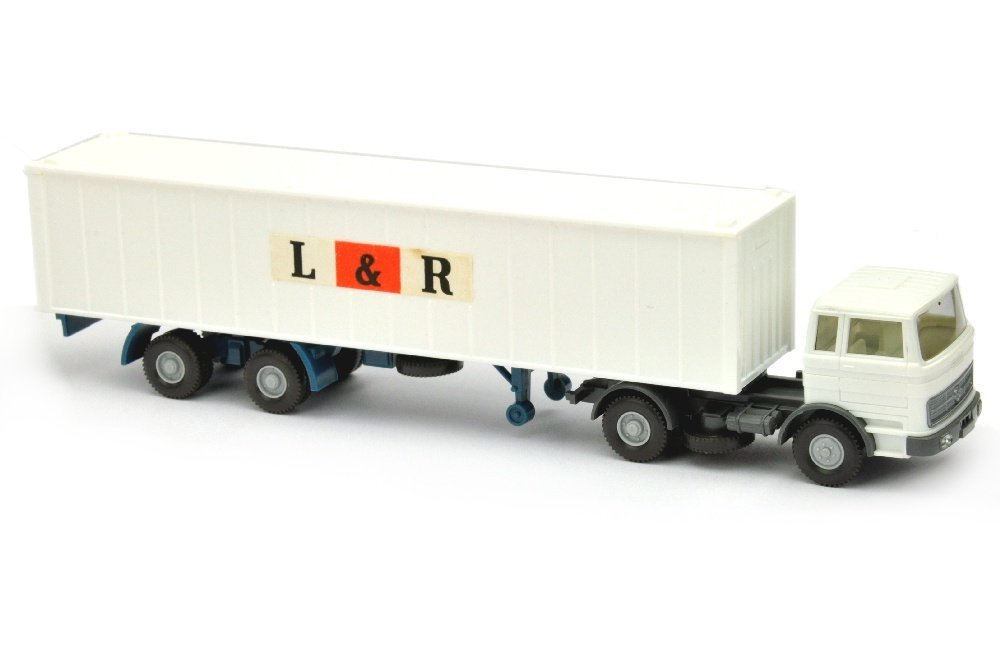 Container-LKW MB 1620 L&R