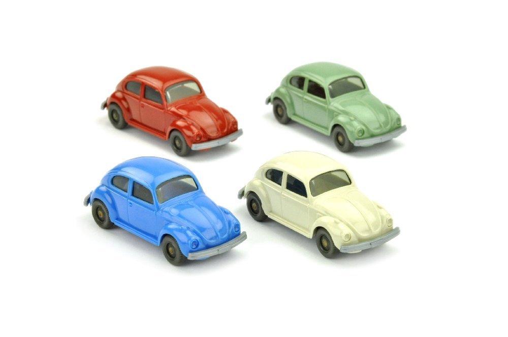 Konvolut 4 VW Kaefer (Typ 6)