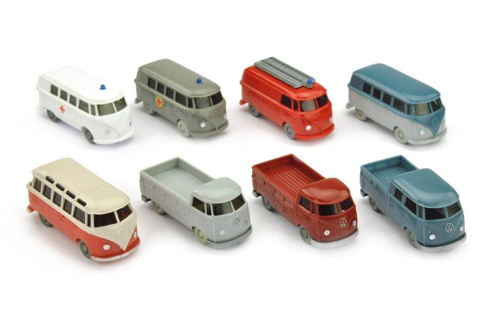 Konvolut 8 VW T1 der 60er Jahre
