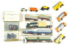 Konvolut 11 Modelle der 70er80er Jahre
