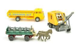 Konvolut 3 Modelle der 60er70er Jahre