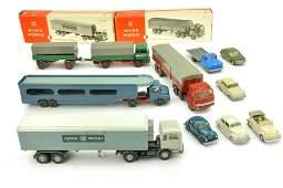 Konvolut 10 Modelle der 60er70er Jahre