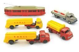 Konvolut 5 Modelle der 50er70er Jahre