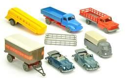Konvolut 7 Modelle der 50er60er Jahre