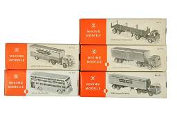Konvolut 5 leere Originalkartons der 60er Jahre