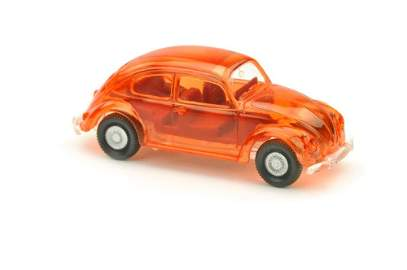 VW Brezelkaefer, orange transparent